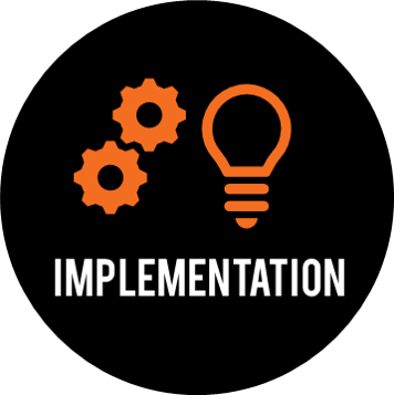 Implementation Icon. Implementation Concept Symbol Design ...